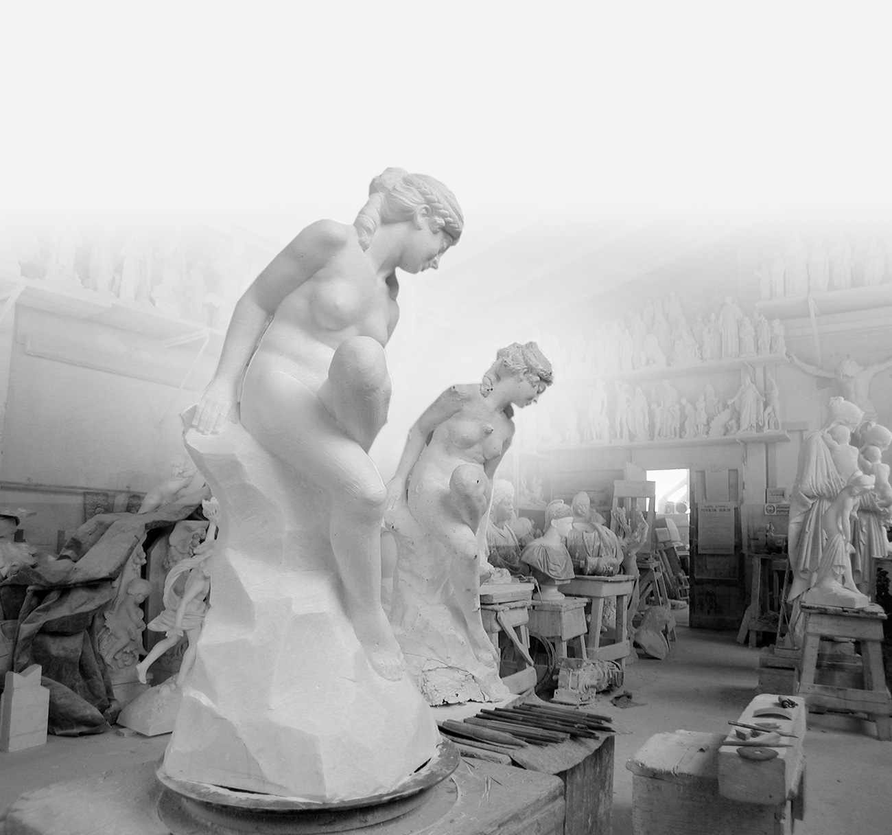 Logic-Art Marble Sculpture Workshop by F.lli Galeotti