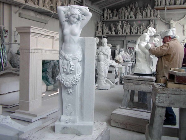 Marble Sculpture Workshop F.lli Galeotti Pietrasanta - 11
