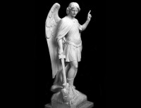 Full Relief Marble Statue of Angel - 1