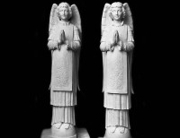 Full Relief Marble Statues of Angels -