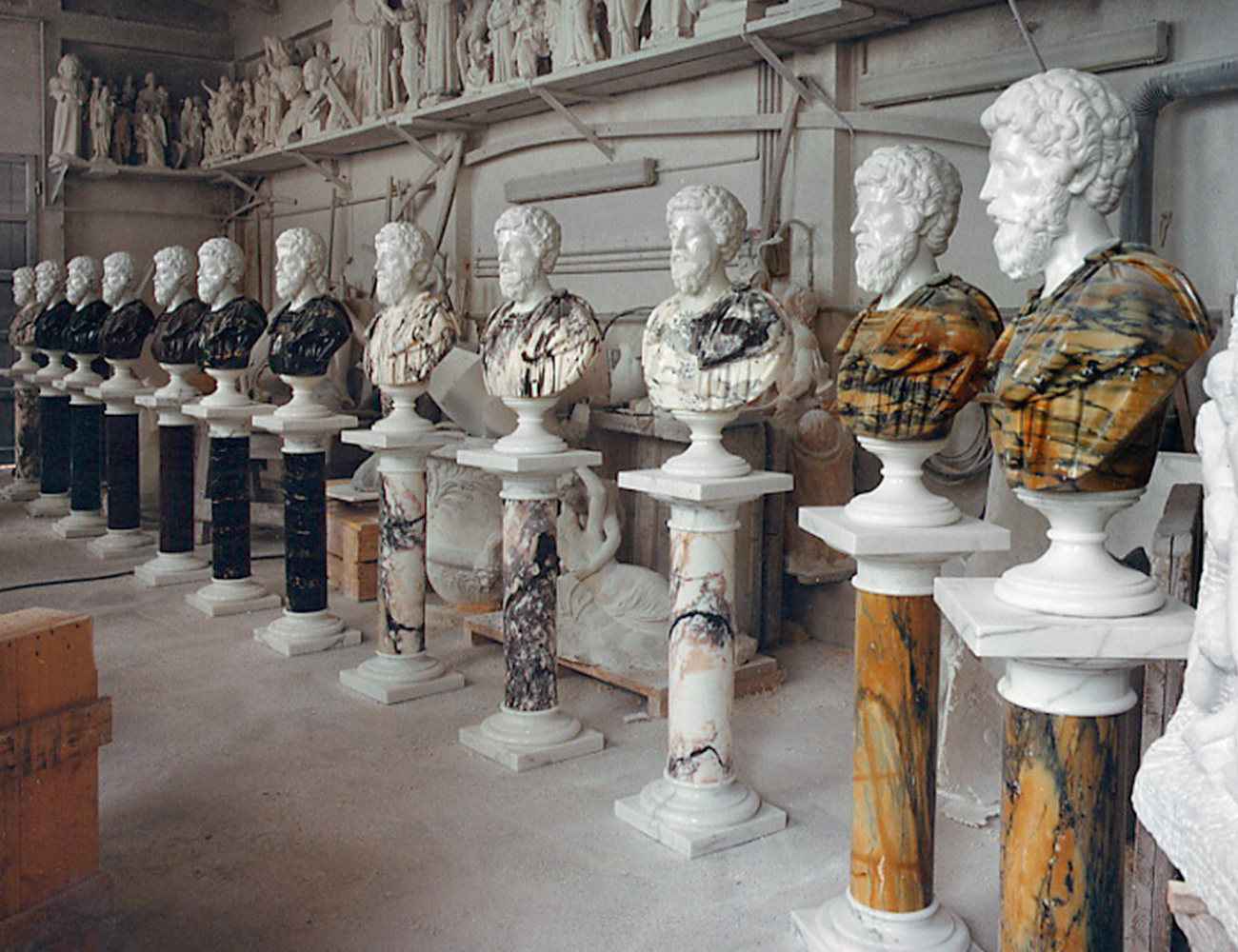 Marble Busts - 1
