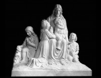 Full Relief Marble Statue of Christ - 5