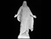 Full Relief Marble Statue of Christ - 7