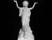 Full Relief Marble Statue of Christ - 13