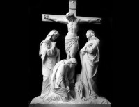Full Relief Marble Statue of Christ - 16