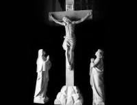 Full Relief Marble Statue of Christ - 17