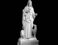 Full Relief Marble Statue of Christ - 20