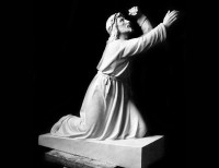 Full Relief Marble Statue of Christ - 22