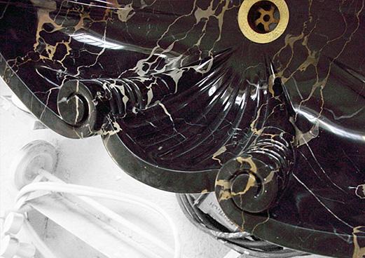 Black Marble Portoro - Fountain