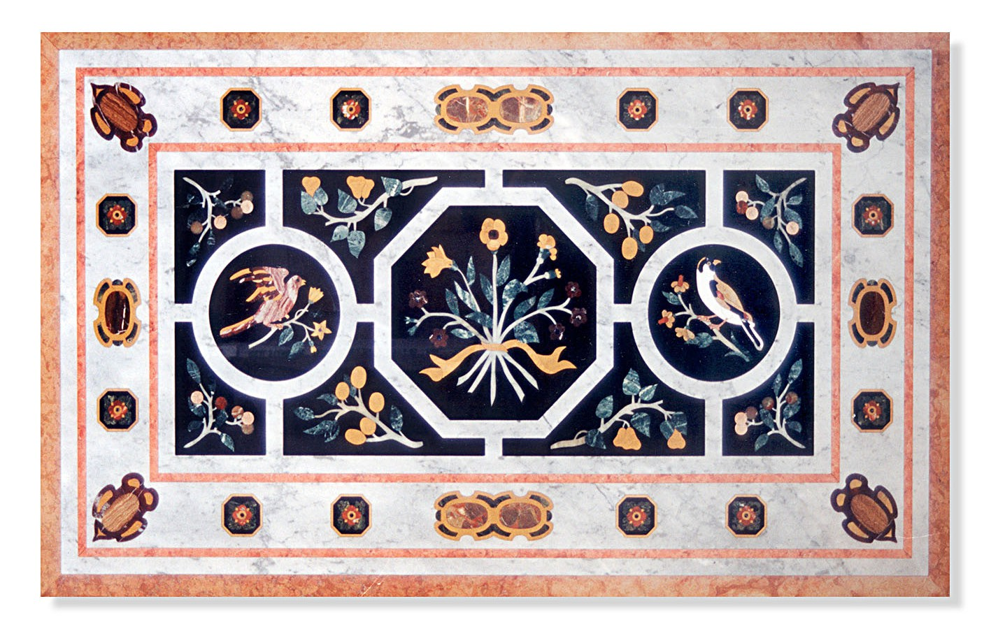 Marble Decorations - Inlay - Flowers