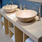 furnishings, marble washbasins, marble bowls, sinks - 1