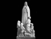 Full Relief Marble Statue of Madonna - 1