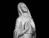 Full Relief Marble Statue of Madonna - 17