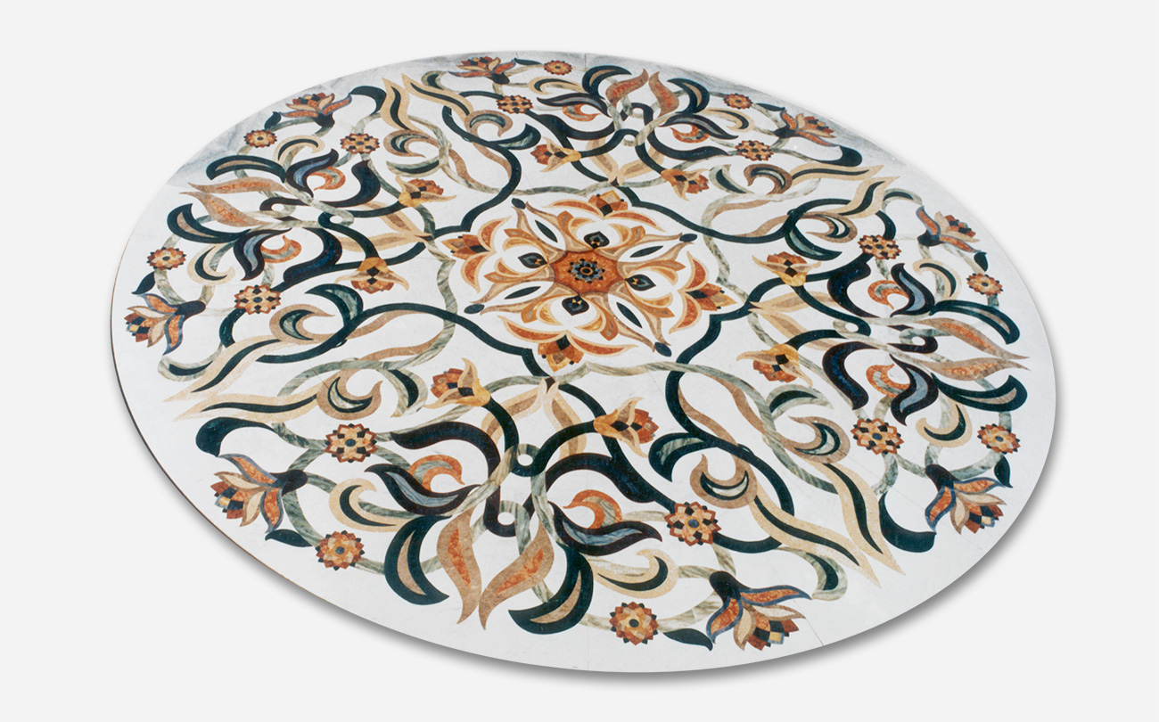 Marble Inlay Floor