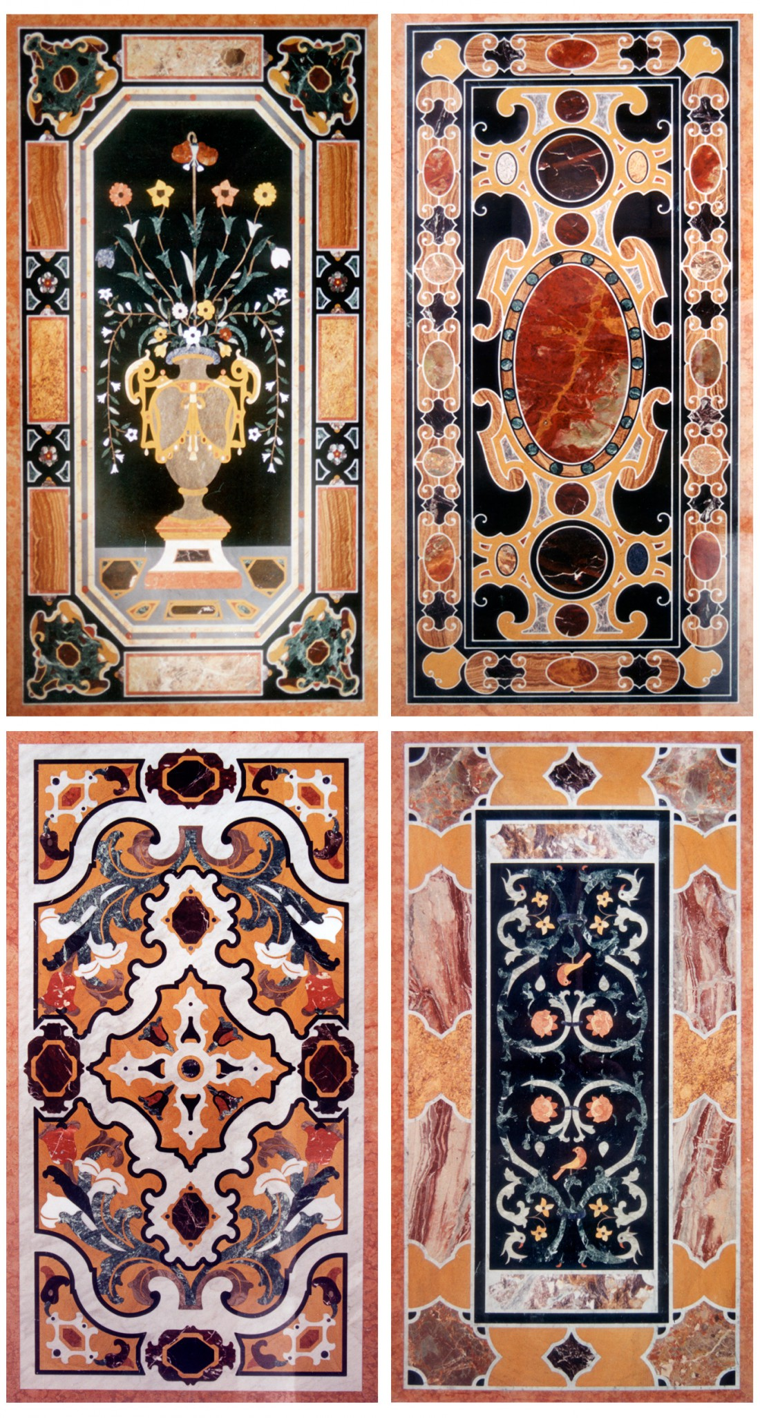 Marble Tables Decorations - Inlay