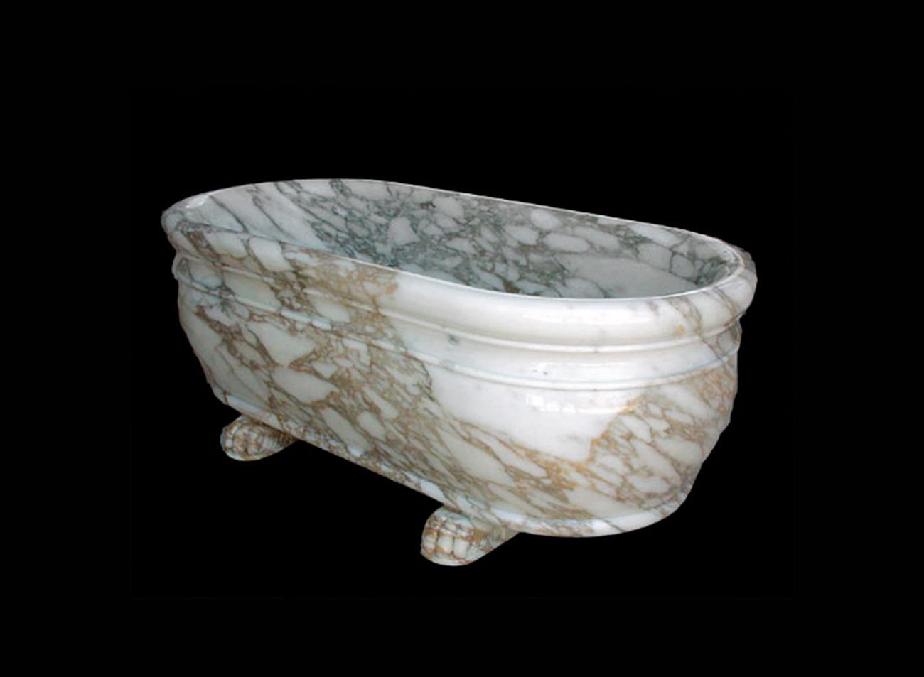 Vasca da bagno in Marmo - 8