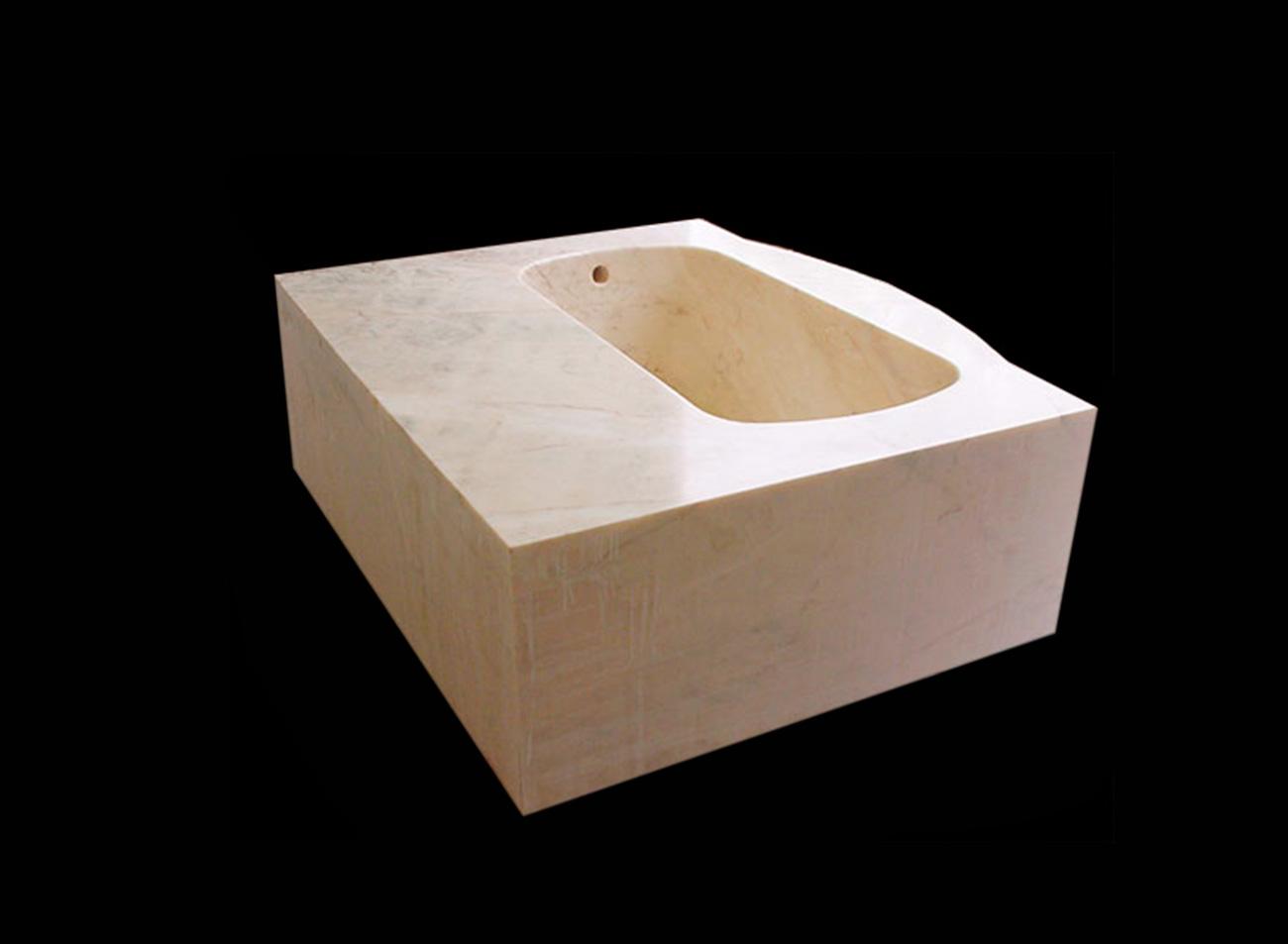 Vasca da bagno in Marmo - 21