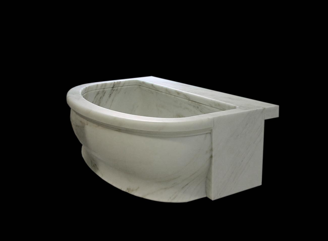 Vasca da bagno in Marmo - 37