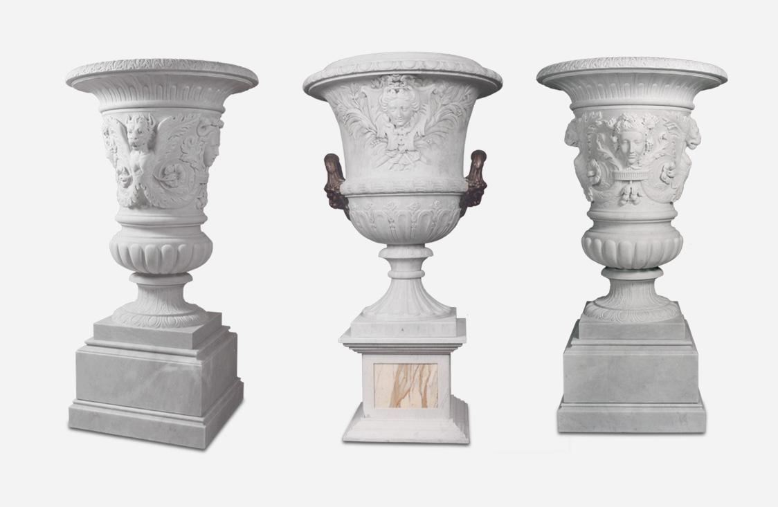 Marble Vases, Stone Vases