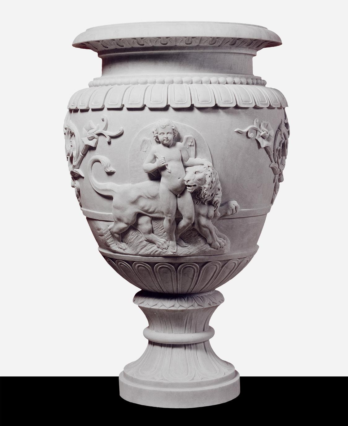 Vasi in marmo logic art galeotti pietrasanta for Vasi marmo
