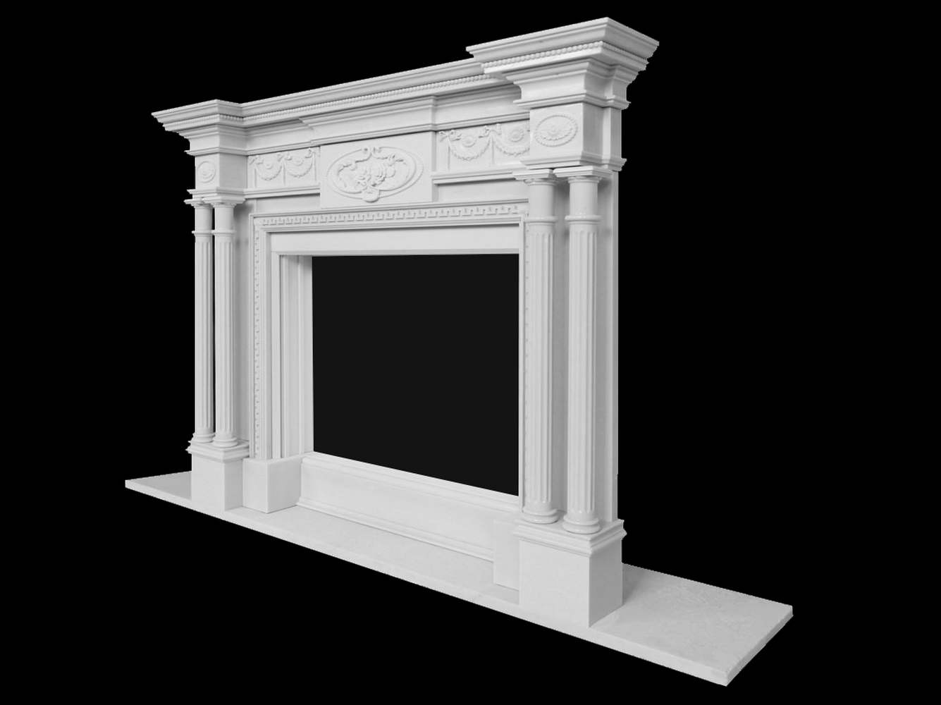 Camino In Marmo Bianco : Caminetti stile antico in marmo pietra caminetto antico pietra