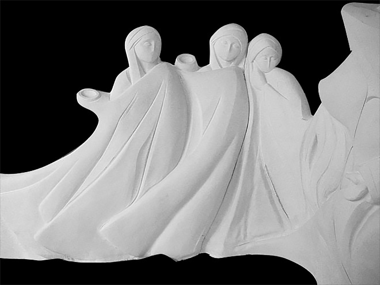 Religious Art Marble Sculptures - 4